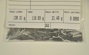 taratura di tubi di precisione in acciaio inox