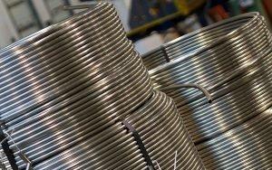 Tubi in rotoli prodotti in acciaio inossidabile